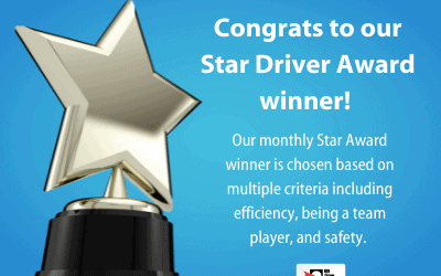 Introducing our new Star Driver Award system